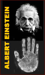 Albert Einstein have short fingers hand which suppose to lead to down syndrome but smart enough to discover E=MC2 speed of light