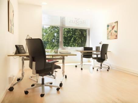 original image of an office Regus before