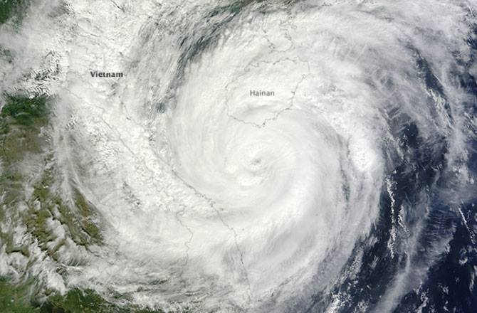Safe to say Vietnam was lucky hurrican Haiyan didn't hit Vietnam as hard as it did in the Philippines.