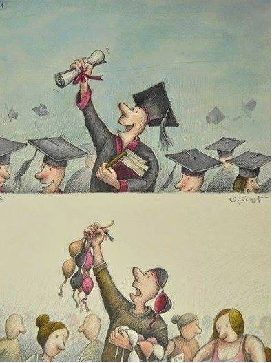 Congratulation new graduated BS BA Master degree what will the future hold for these graduate