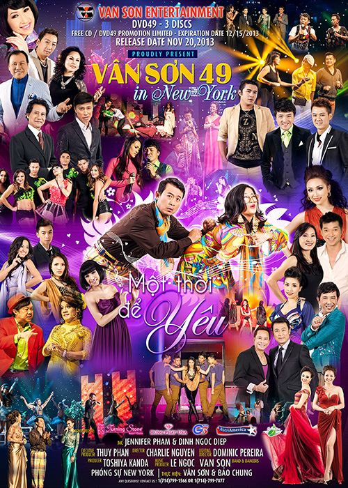 Van Son 49 December 2013 Vietnamese music DVD HD Blu-ray free download