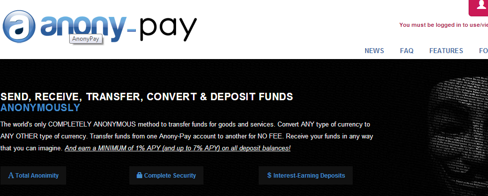 anony-pay.com intelligence scam from ipuservices.com