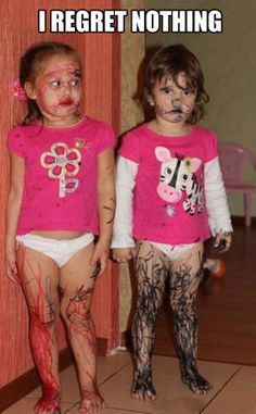 she does it to me first kids having fund with marker fashion design as early stage