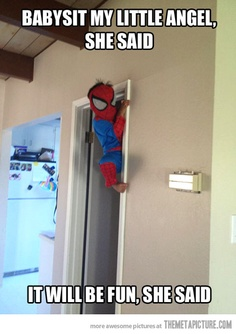 now we know what spider man could have been as a child