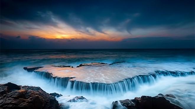 Bãi Hang Rái - Ninh Thuận - Ninh Thuan Vietnam, Bai Hang Rai just like Niagara Fall in USA and Canada