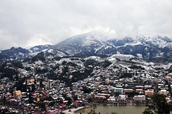 Khung cảnh đẹp ngỡ ngàng Sapa những ngày tuyết phủ trắng Sapa mùa tuyết trắng - Sapa Vietnam Winter snow yes Christmas 2014