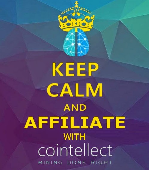 cointellect littered the internet websites social media facebook twitter with affiliates websites blackhat SEO style